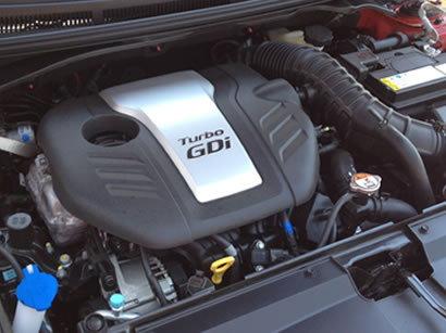 Veloster Turbo's 1.6-liter Engine