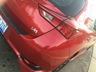 2016 Scion iM taillamp detail