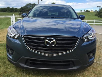 2016.5 Mazda CX-5 front fascia detail