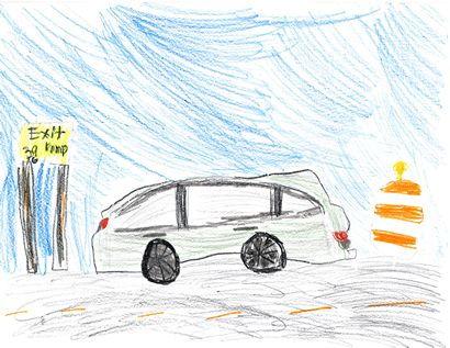 2018 Honda Odyssey sketch 1