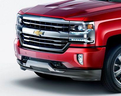 2017 Chevrolet Silverado 1500 High Country High Desert front fascia detail