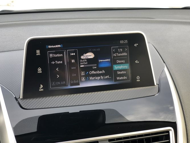 2019 Mitsubishi Eclipse Cross SEL interior touchscreen