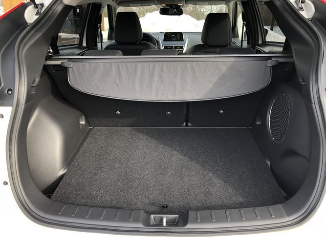 2019 Mitsubishi Eclipse Cross SEL interior cargo area