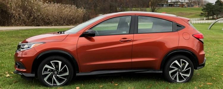 2019 Honda HR-V Sport AWD Driving Impressions