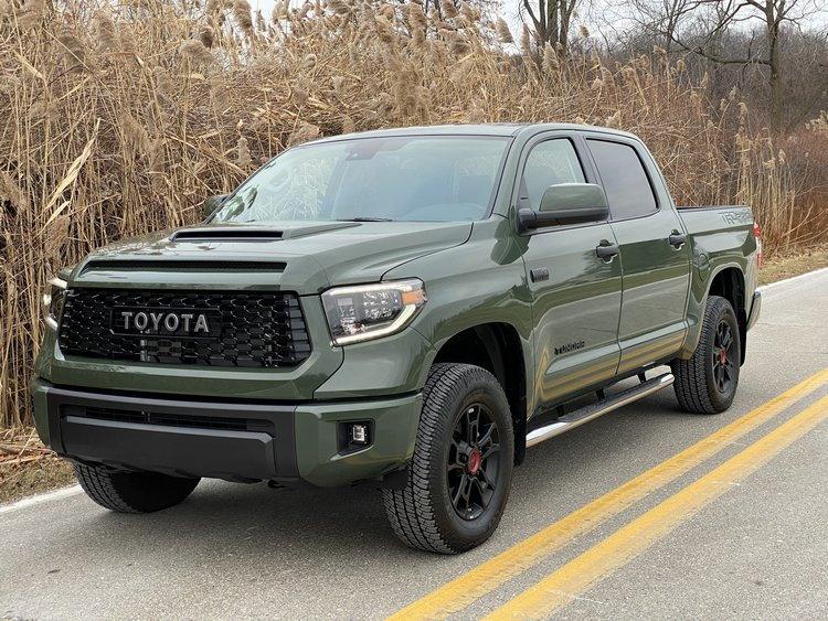 2020 Toyota Tundra TRD Pro CrewMax 4x4