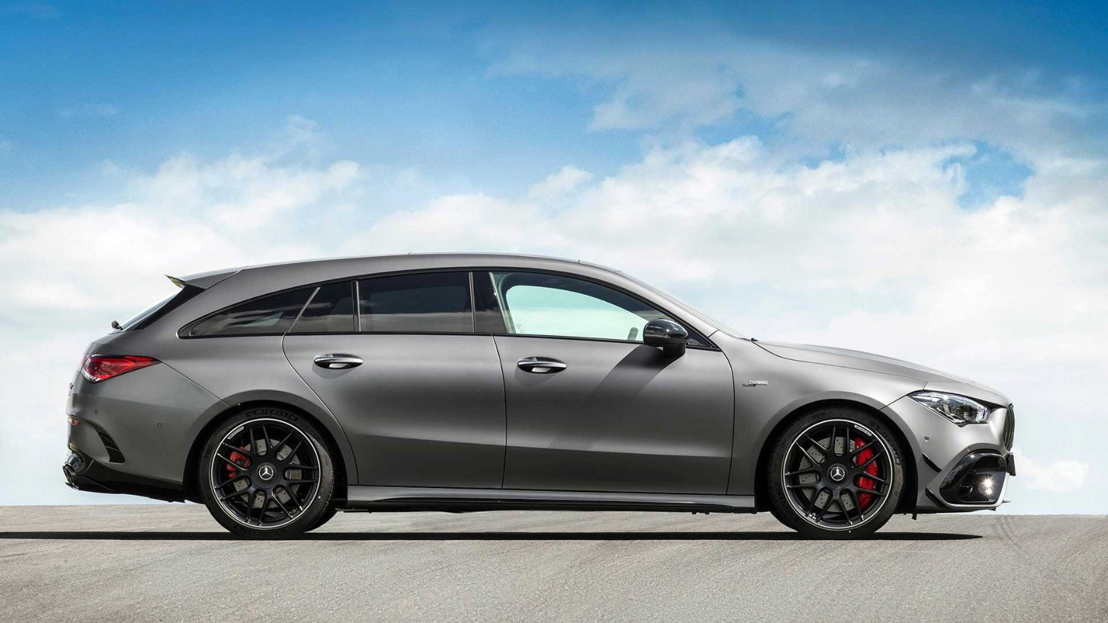 Mercedes-AMG CLA45 Shooting Brake is a Powerful Compact