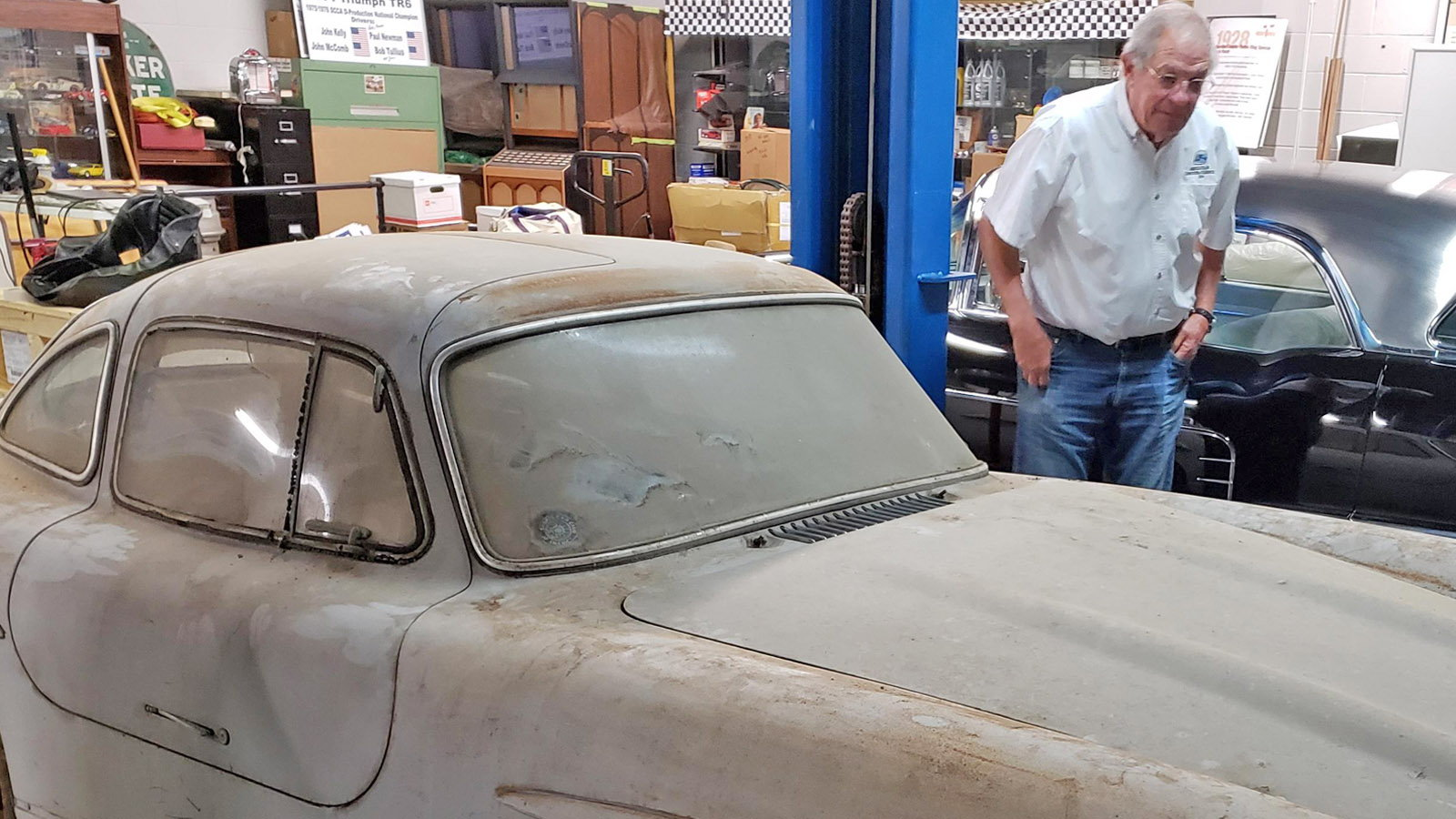 1954 300SL Gullwing Discovered in a Florida Storage Unit
