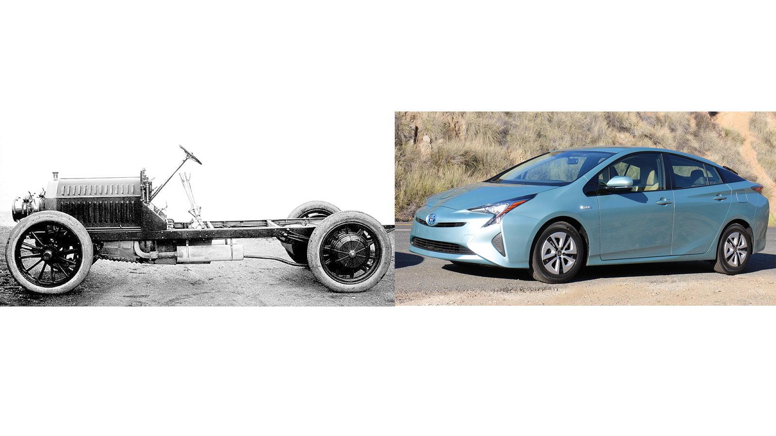 Gasoline-Electric Hybrid Car (906)
