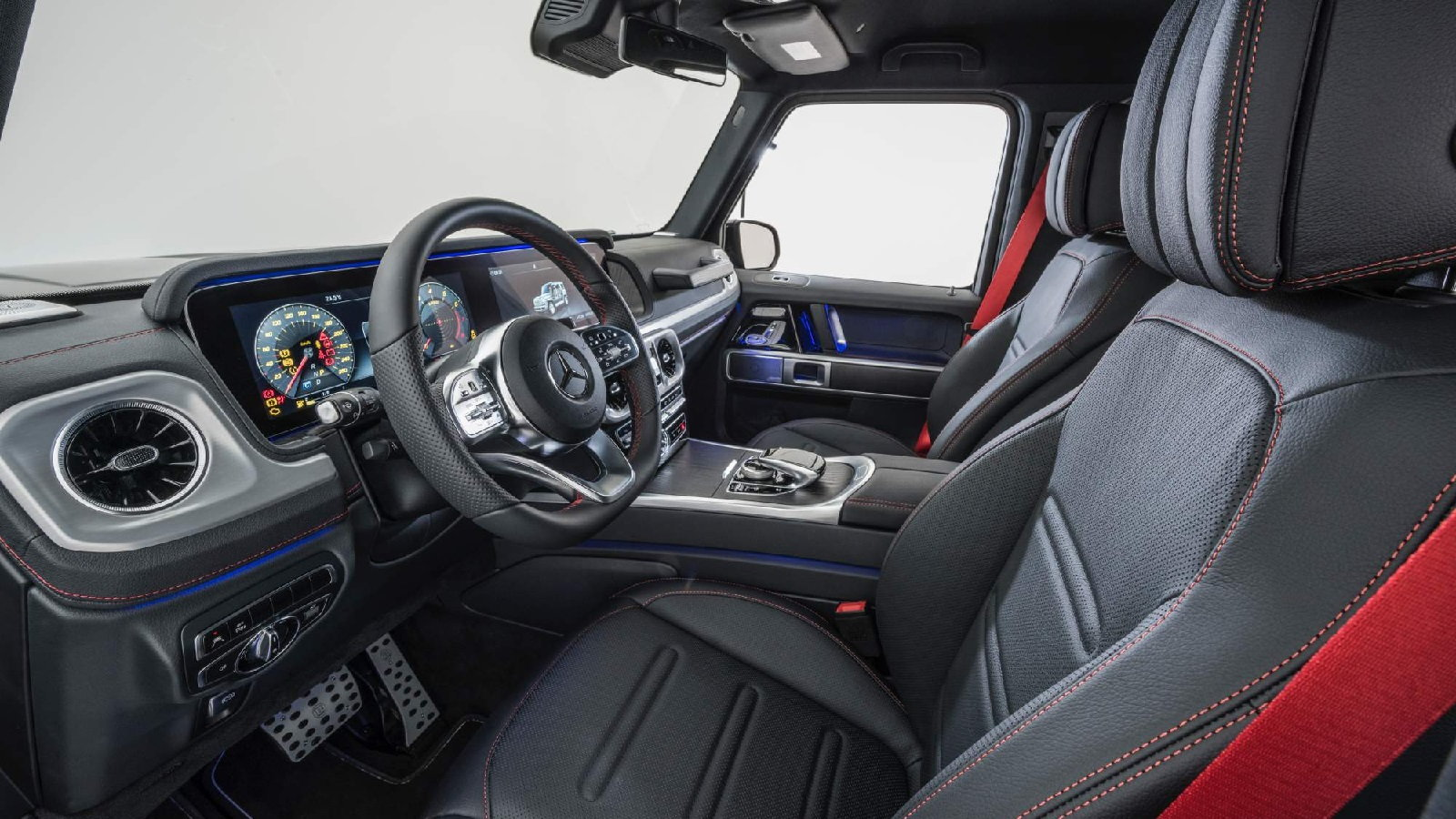 2019 Mercedes G500 Tuned by Brabus