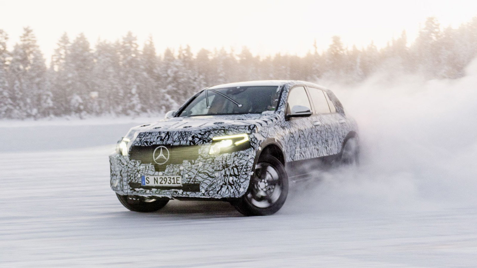 All-Electric EQC SUV Gets Three Year Test