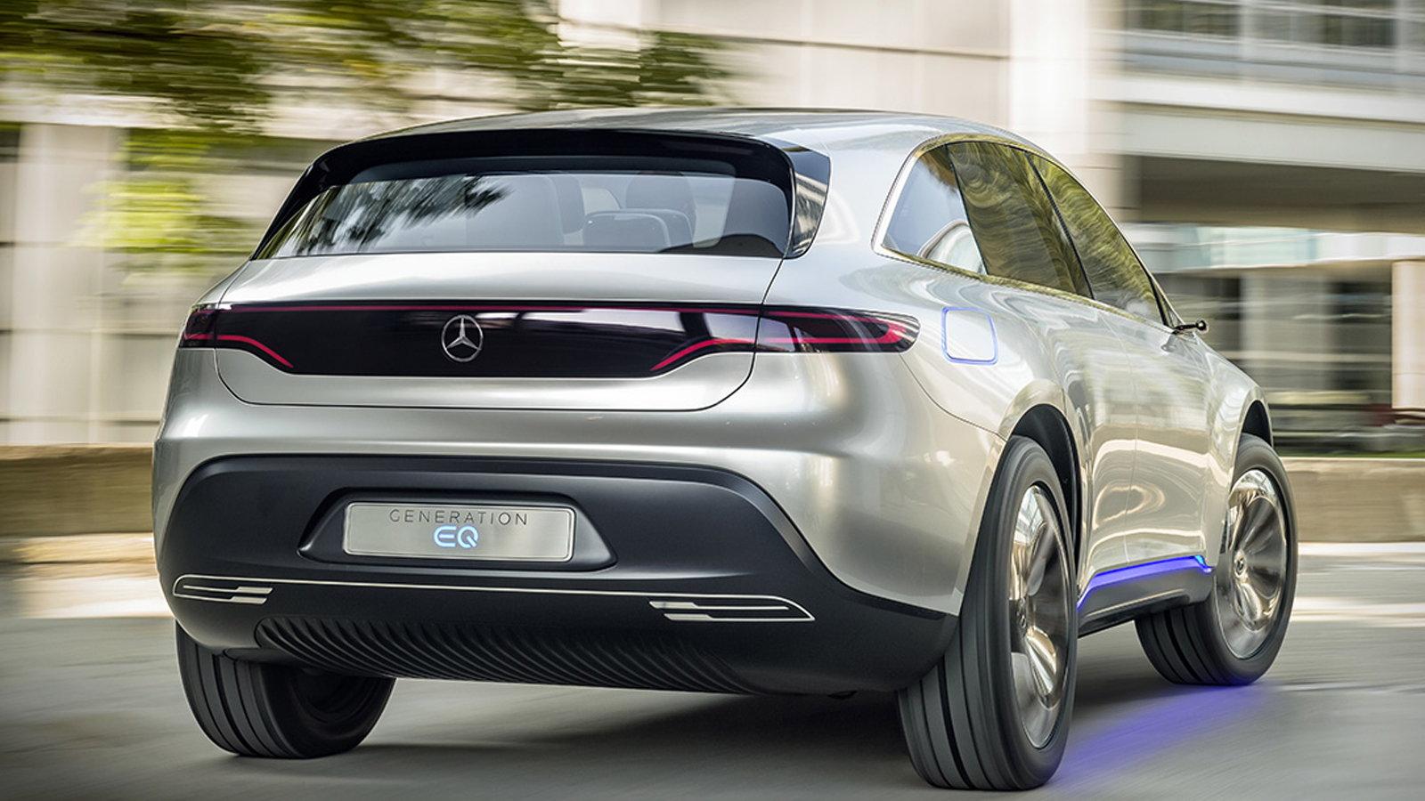 The Electric Mercedes-Benz EQC