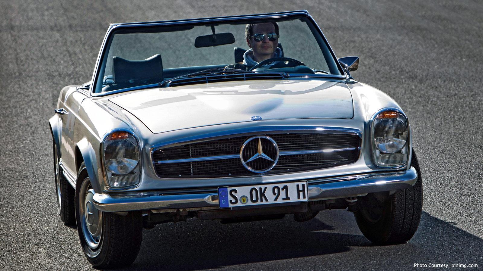 1967 Mercedes-Benz 280SL Pagoda