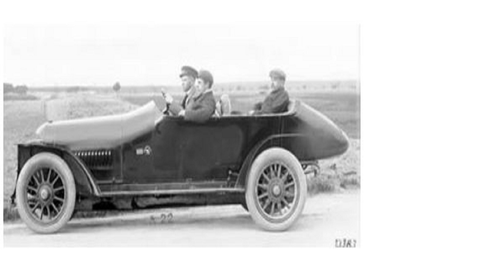First Multi-Valve Production Automobile