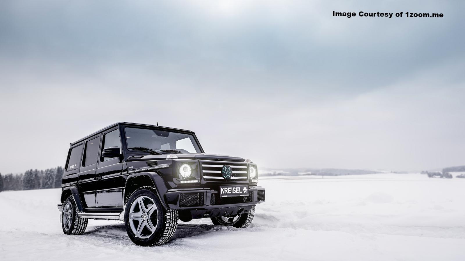 Mercedes-Benz Winter Wallpapers