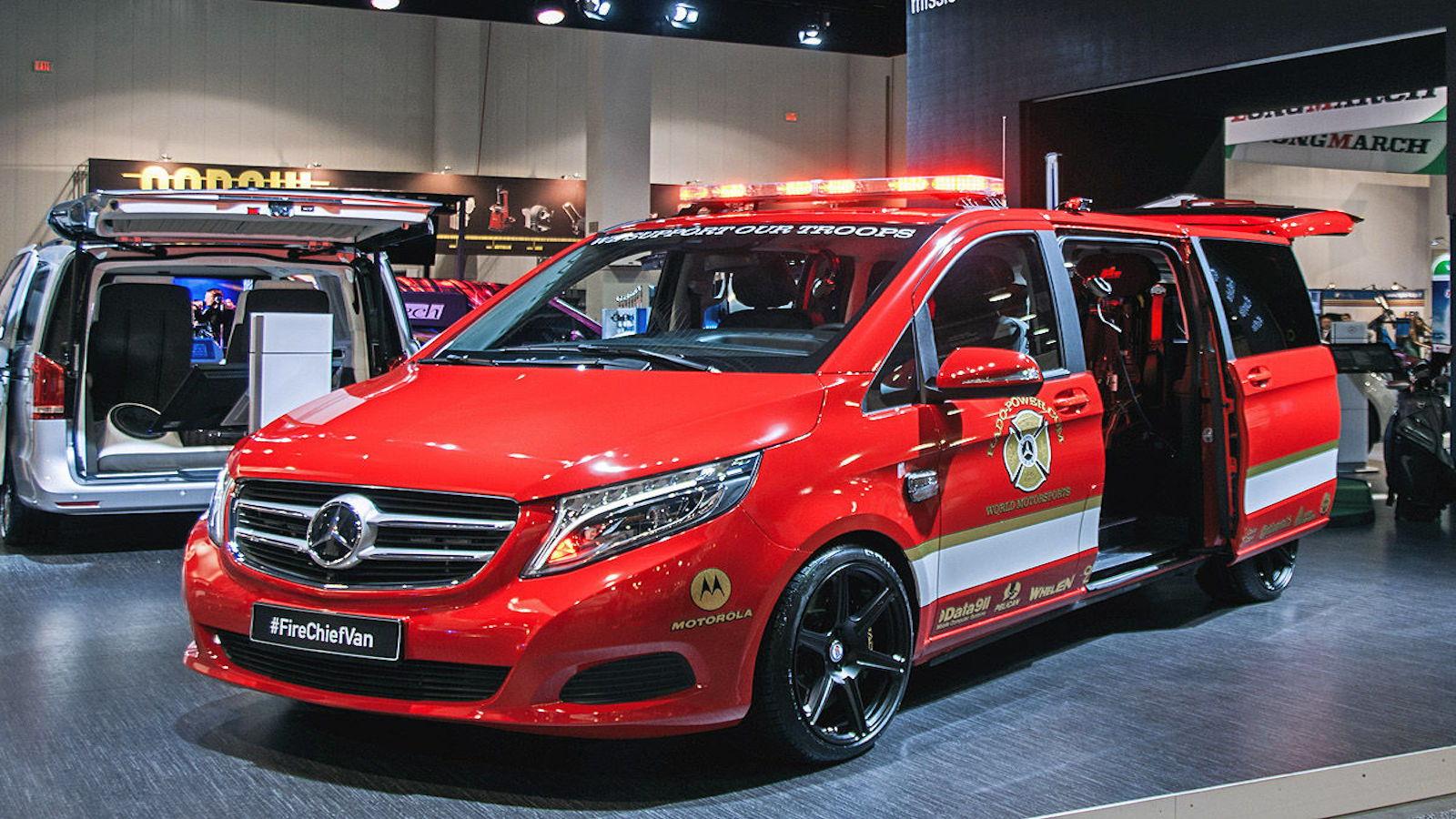RADO: Fire Chief Concept Truck