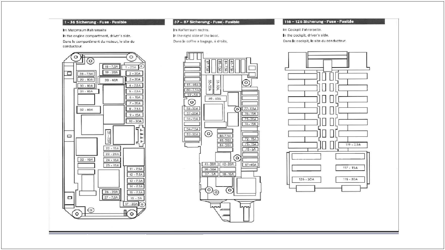 mercedes benz c class w204 fuse diagrams and commonly blown fuses mercedes c300 interior w204 fuse allocation chart (page 2)