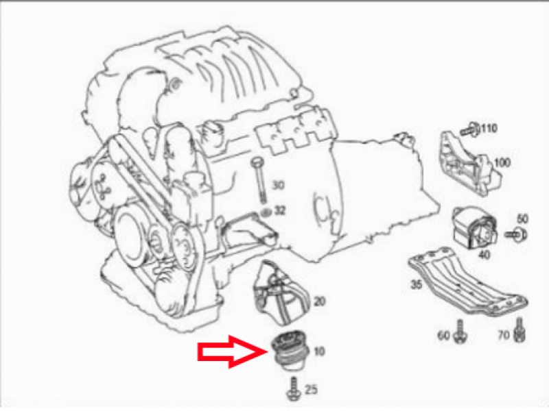 how to replace motor mounts