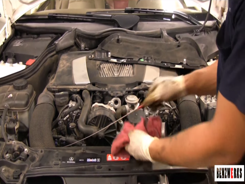 Mercedes benz e class w211 c class w205 how to replace for Mercedes benz oil change coupon