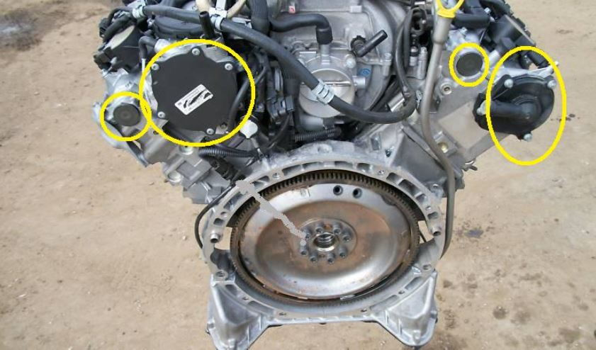 Mercedes-Benz C-Class w204 Why is Car Leaking Oil? | Mbworld