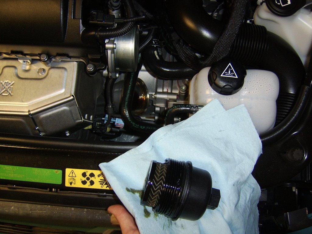 on 2013 Mini Cooper Oil Drain Plug Location