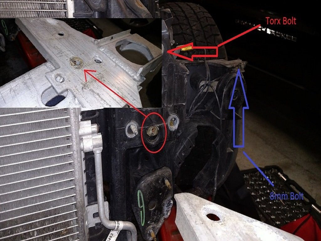 Cooling Fan Sensor Location : Mini cooper to how replace radiator
