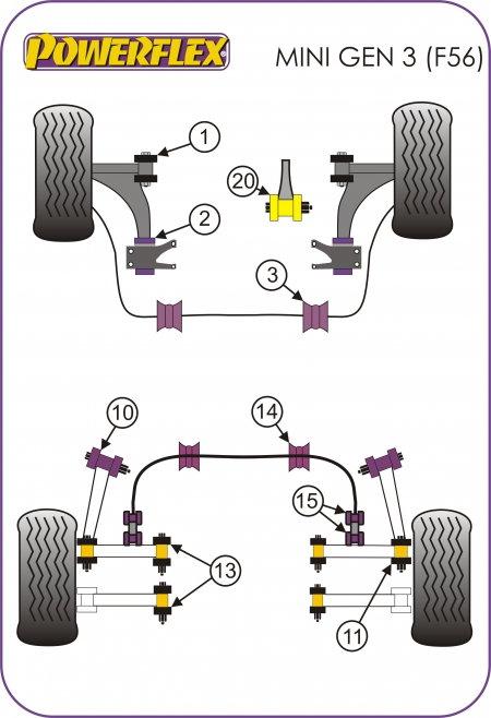 Mini Cooper 2014 To 2016 Suspension Modifications