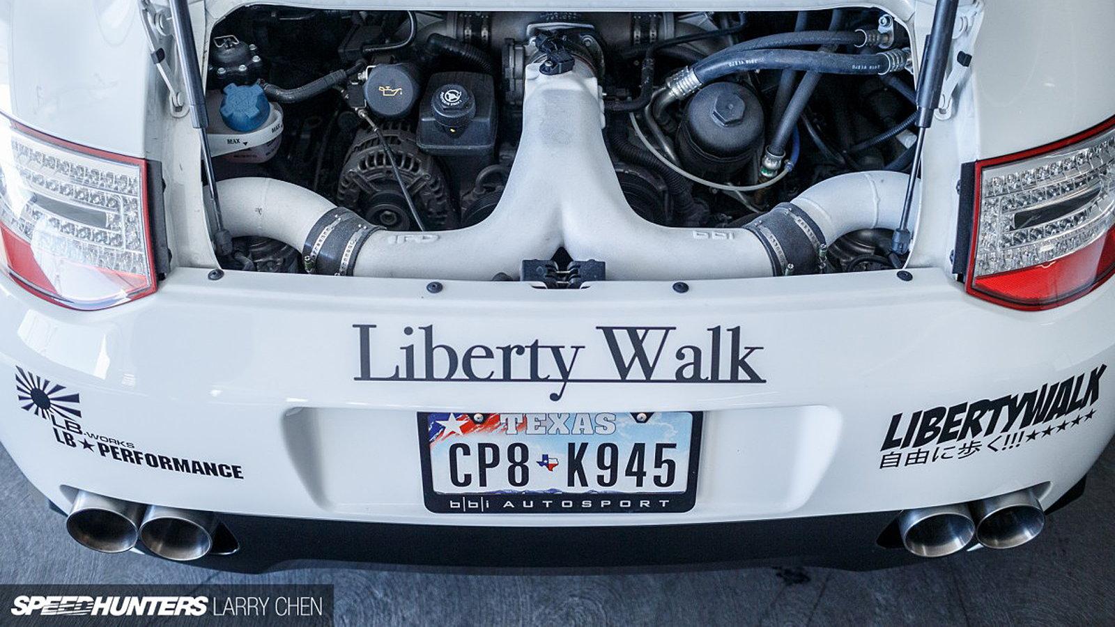 This 997 Doesn't Strut... It Liberty Walks