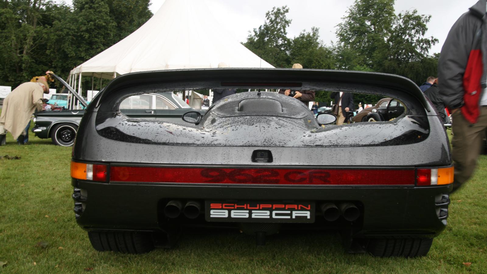 1993 Schuppan 962CR Visits Jay Leno