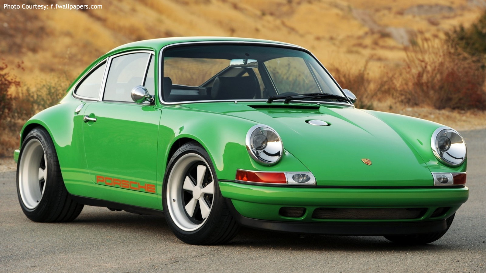 Classic St. Patty's Porsche