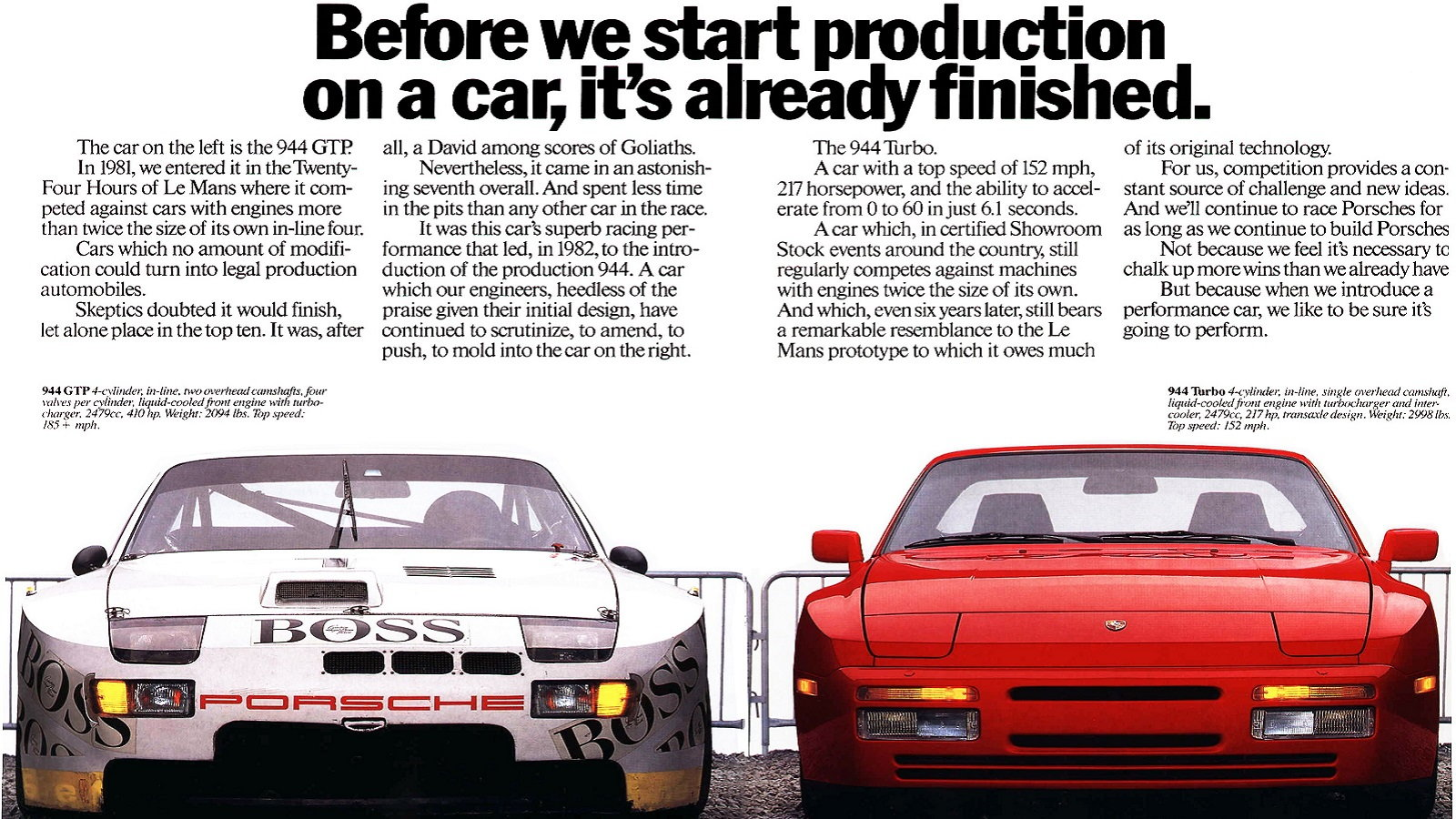 The Line Between Race Car and Production Car