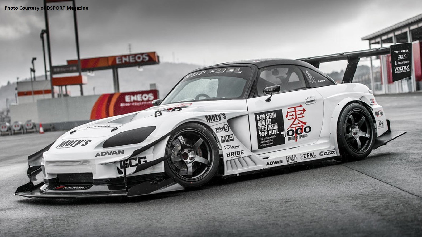 A Look At Top Fuel's Insane S2K Racer