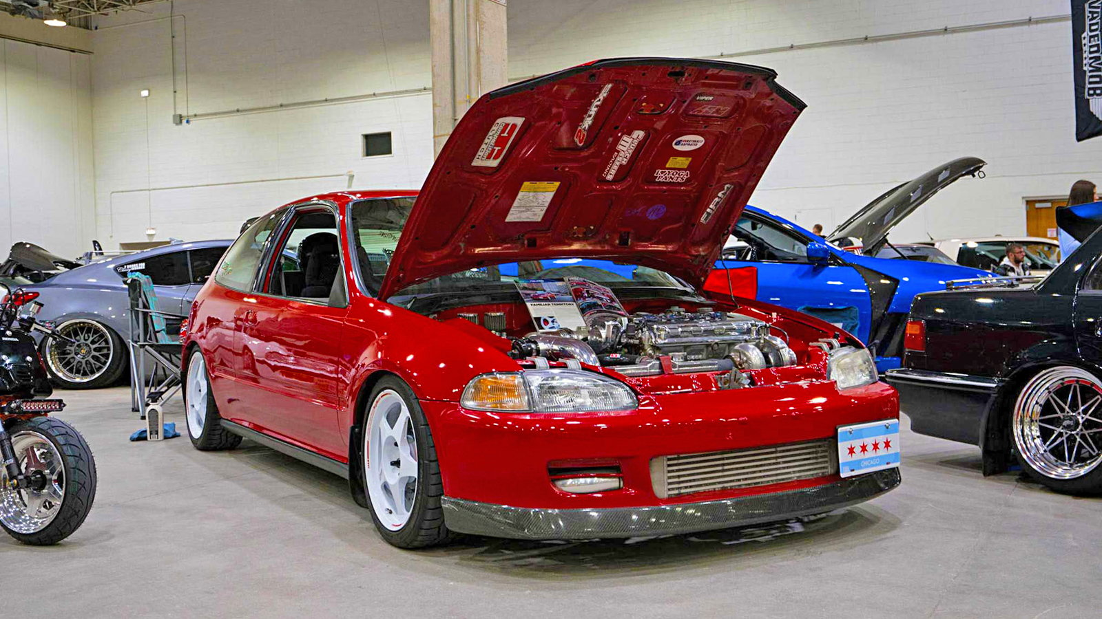 Wekfest Chicago Brings Out the Hondas