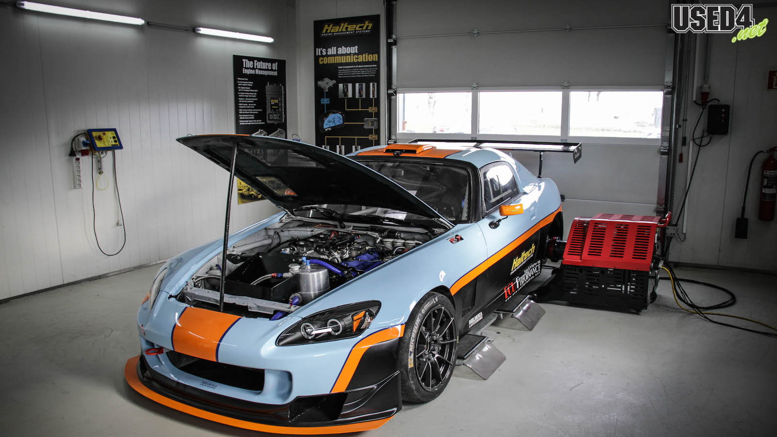 Building a Top-Level Time Attack Car