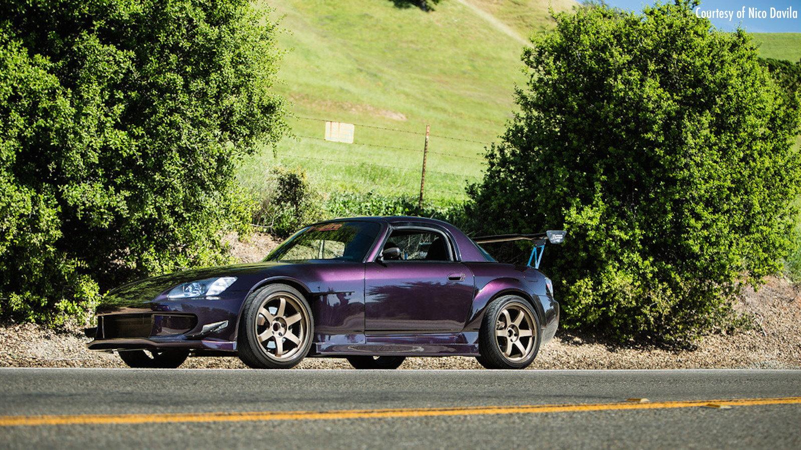 Neeekd's GTR Purple