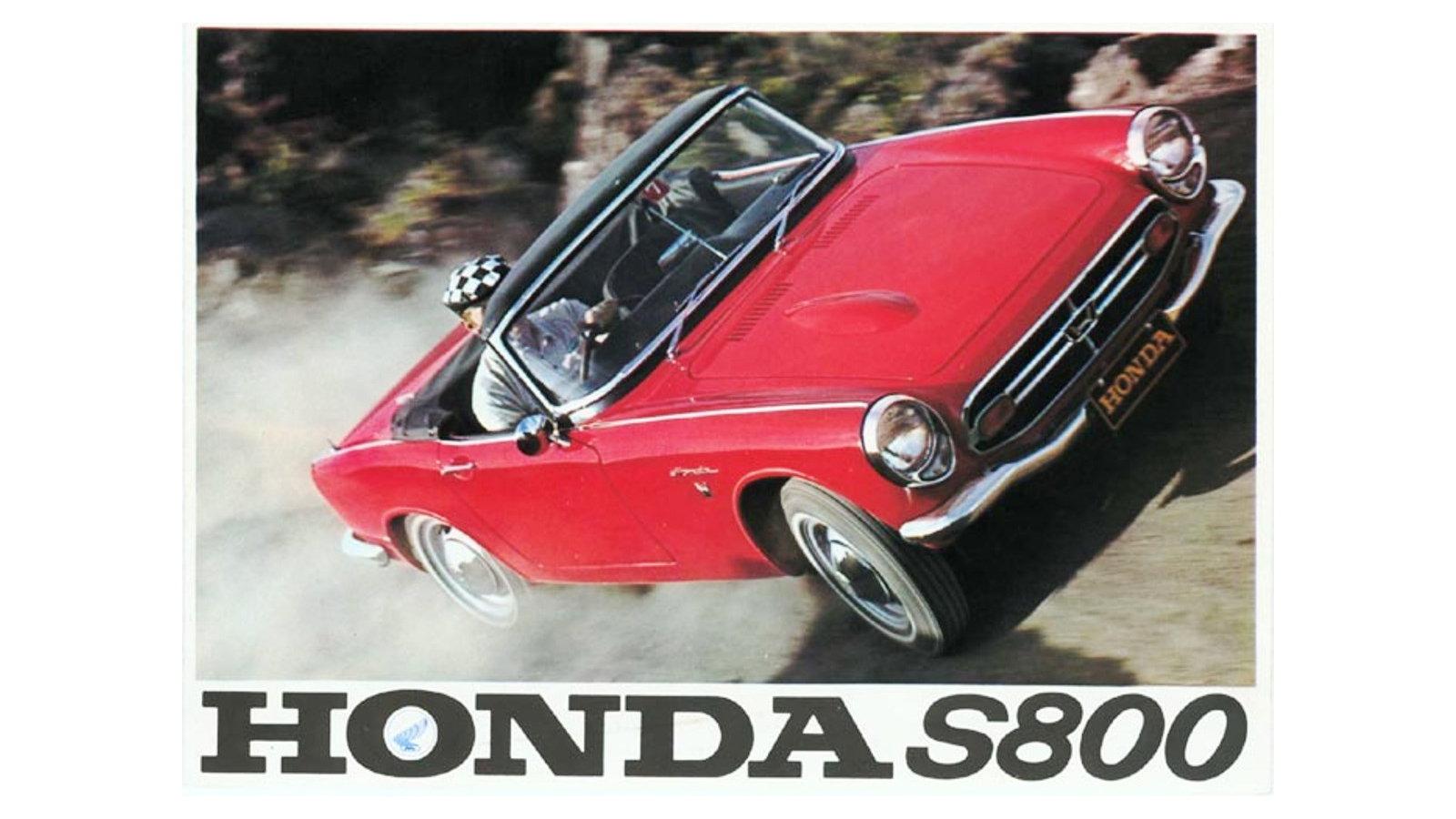 1966-70 Honda S800