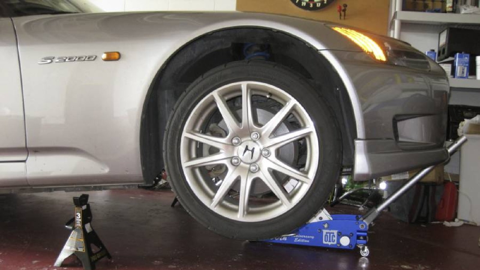 Spring spacers, suspension, maintenance