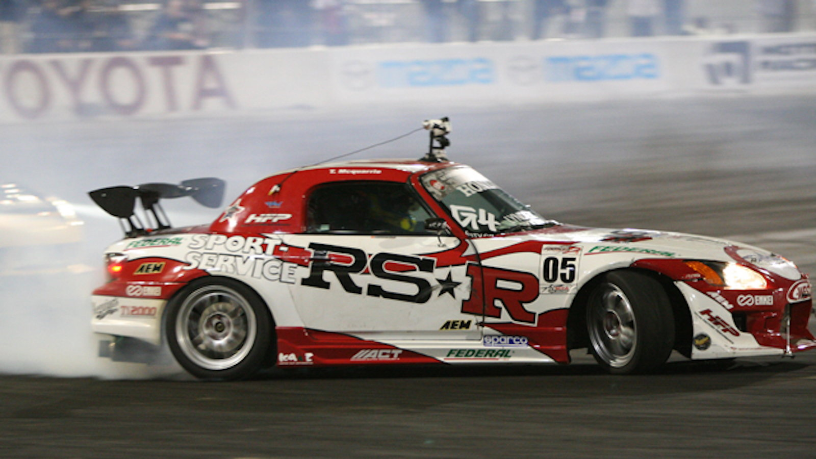 What do you mean a S2000 can't drift?