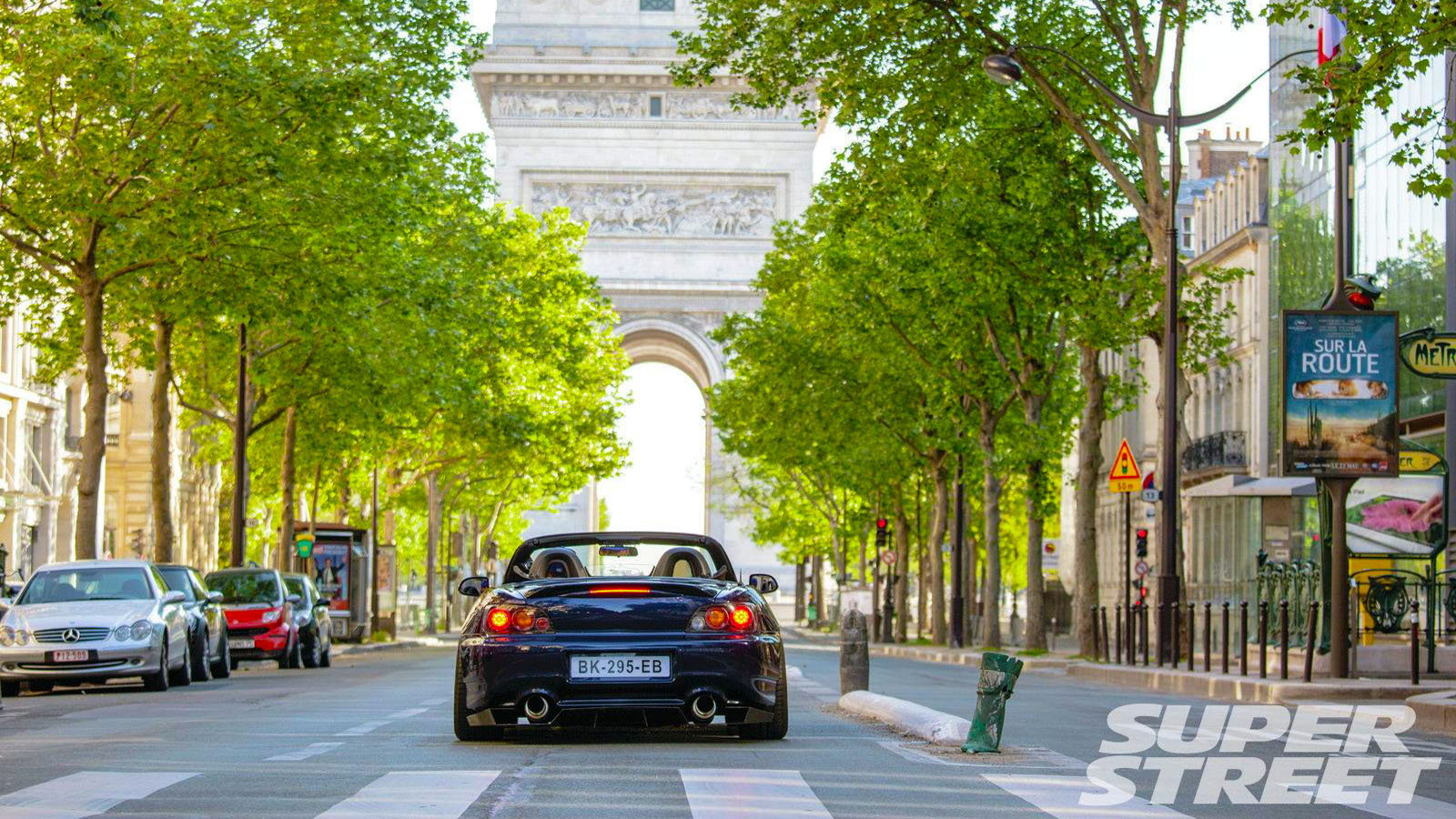 This Parisian S2000 is Fashionable Fancy