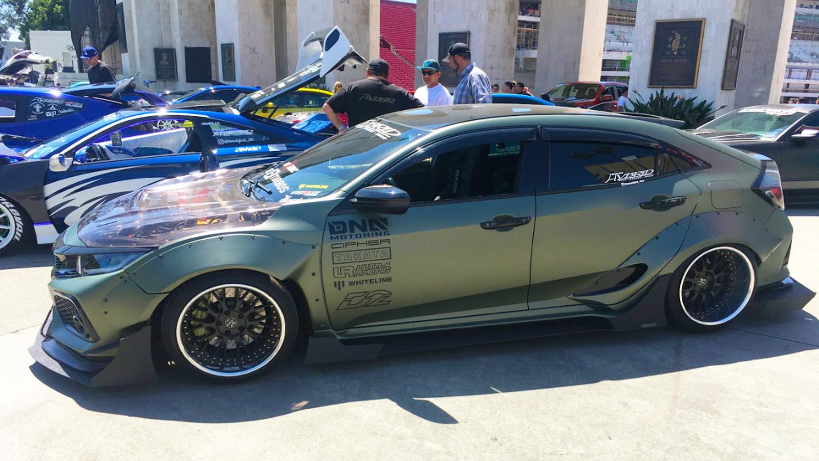 Honda Shows Up En Masse to HIN LA 2019