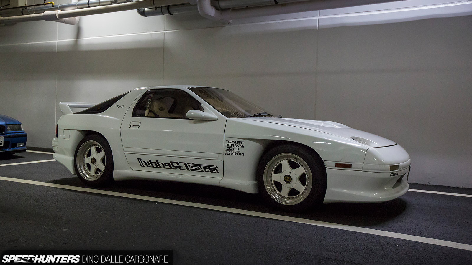 Into the Night with One of Japan's Underground Car Meets