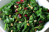 dark green leafy vegetables for revitalizing the liver