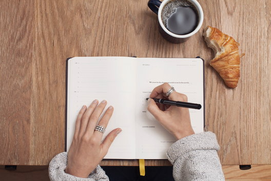 Planning the day for a more structured life