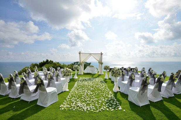 view of wedding ceremony