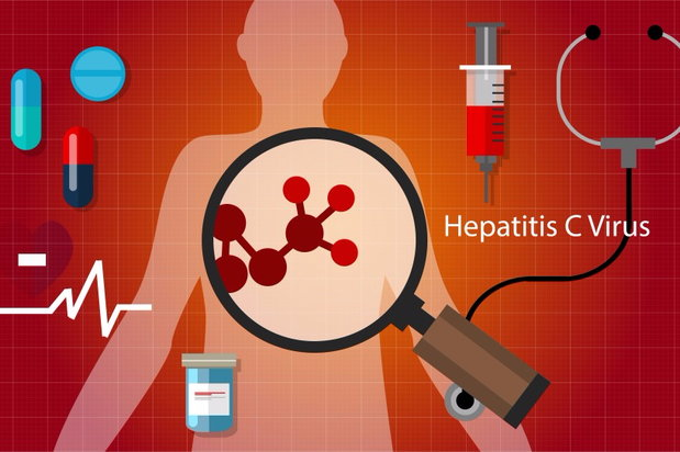 hepatitis c virus illustration