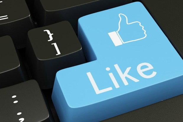 facebook like key on keyboard