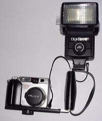 Olympus C-2000Z w/external flash