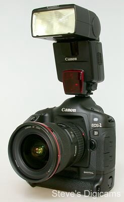 Canon EOS-1D Mark II Pro SLR. Photos are (c) 2001 Steve's Digicams