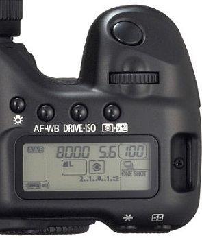 Canon EOS 5D SLR.