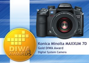 DIWA Award for Maxxum 7D