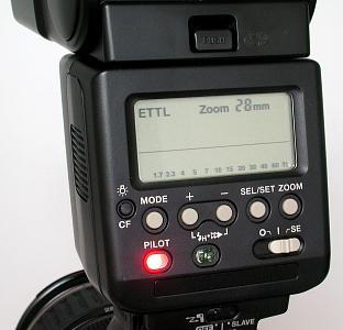 Canon EOS D60 with Canon 550EX speedlight, image (c) 2002 Steve's Digicams